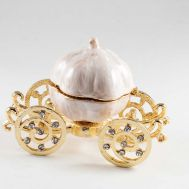 Faberge Box Pumpkin on a Carriage, fig. 1
