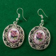 Finift Earrings Versal Violet, fig. 1