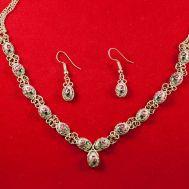 Finift Jewelry Set Cinderella Pink, fig. 1