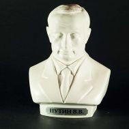 Putin Gypsum Bust White, fig. 1