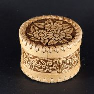 Round Box Floral Three Deasies, fig. 1