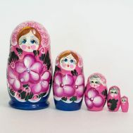 Matryoshka Pink with Crystals, fig. 1