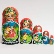 Matryoshka Russian Country Life, fig. 1