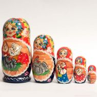 Matryoshka Tale about Speckled Hen, fig. 1