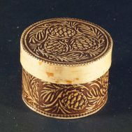 Trinket Box Three Cedar Cones, fig. 1
