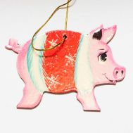 Christmas Figurine Piggy, fig. 1