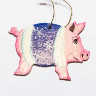 Christmas Tree Figurine Pig, fig. 1
