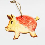 Christmas Tree Figurine Piggy, fig. 1