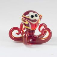 Glass Red Octopus Figurine, fig. 1