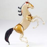 Jumping Bay Horse Figure, fig. 1
