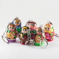 Set of Matryoshka Key-chains, fig. 1