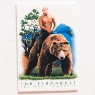 Magnet Vladimir Putin with Bear, fig. 1