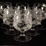 Crystal Glass 200 ml for Brandy, fig. 1
