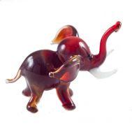 Glass Dark Red Elephant, fig. 1