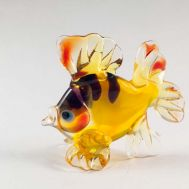 Glass Golden Fish Figure, fig. 1