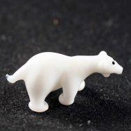 Polar Bear Glass Figure, fig. 1