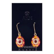 Earrings Sunflower on Red, fig. 1