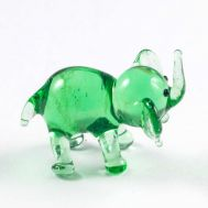 Elephant Glass Figure, fig. 1
