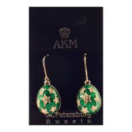 Earrings Stars on Green, fig. 1