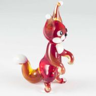 Glass Squirrel Figure, fig. 1