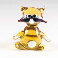 Glass Raccon Figure, fig. 1