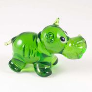 Green Hippo Figure, fig. 1