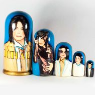 Michael Jackson Nesting Doll, fig. 1