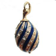 Faberge Style Pendant Twisted, fig. 1