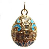 Faberge Pendant Crown Turquoise, fig. 1