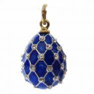 Enamel Pendant Net Blue, fig. 1
