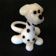 Doggy  glass figurine