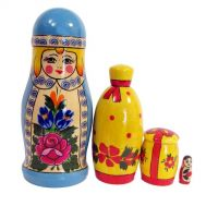 Snegurochka Nesting Doll, fig. 1