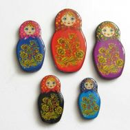 Magnet set Matrioshka, fig. 1