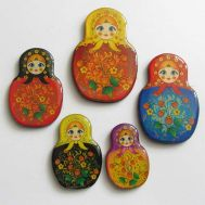 Magnet set Matryoshka, fig. 1