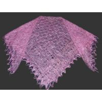 Color Orenburg shawl