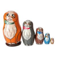 Nesting Doll Cats