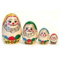 Nesting Doll Russian Santas