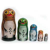 Matryoshka Frogs