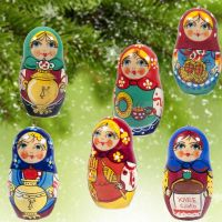 Christmas Ornaments Matryoshka