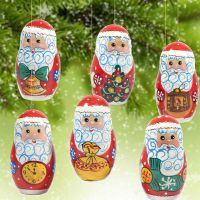 Christmas Ornaments Russian Santa