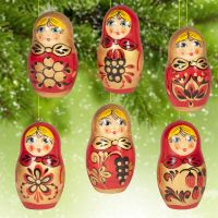 Christmas ornament Matrioshka