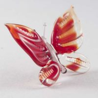 Butterfly Glass Figure