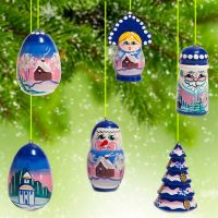 Winter  Motives Ornaments Set