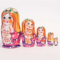Matryoshka Aliona with Toys