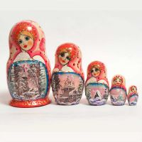 Matryoshka Winter Sights
