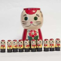 Nested doll Cats