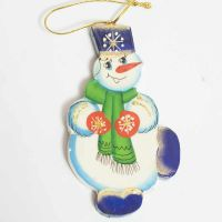 Figurine Jolly Snowman