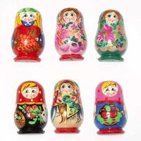 Set of Assorted Matryoshka Magnets