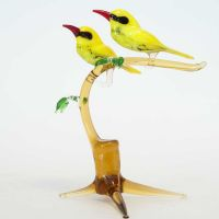 Two Orioles on the Twig