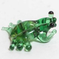 Frog Glass Miniature